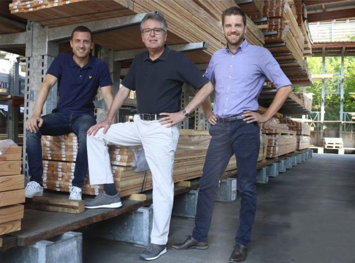 Unternehmensübergabe bei Holz-Hauff GmbH in Leingarten bei Heilbronn