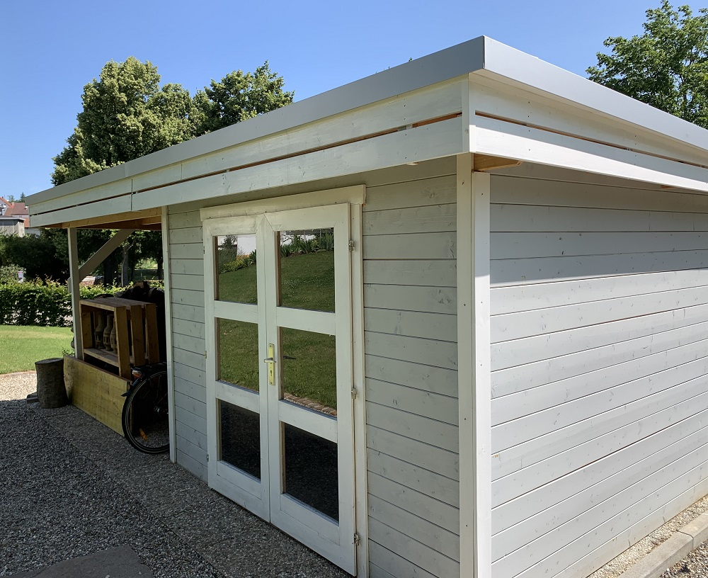 Wolff Finnhaus Gartenhaus Calais | Holz-Hauff in Leingarten bei Heilbronn