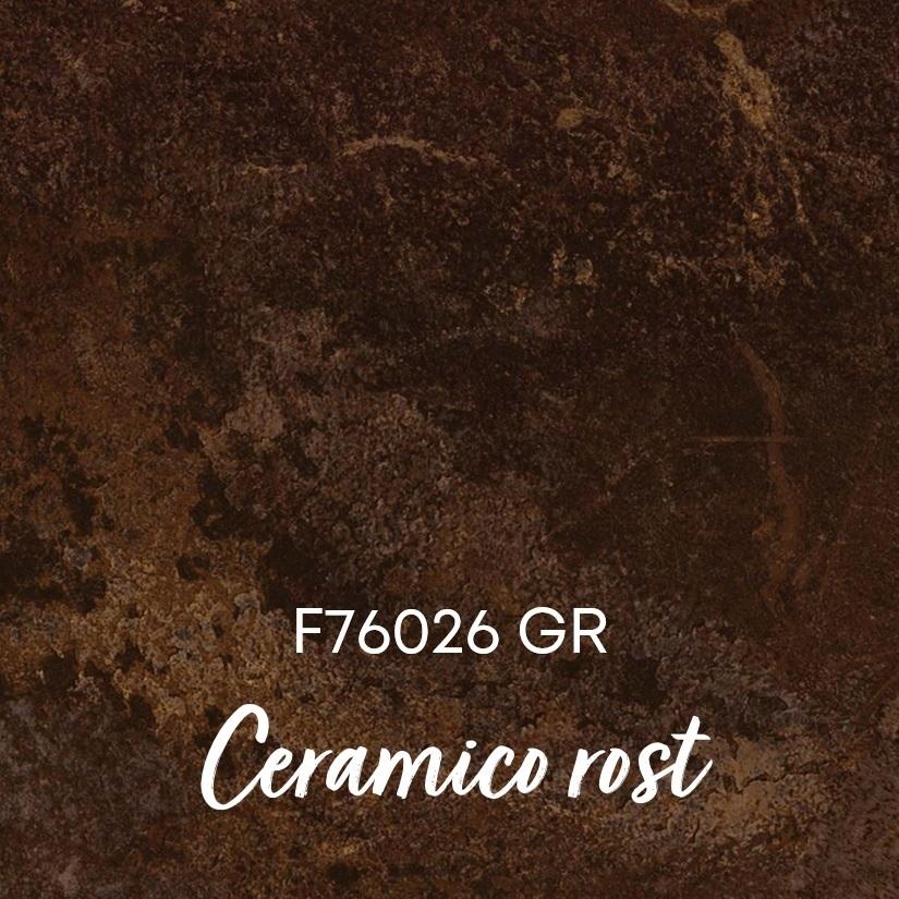 Dekor F76026 GR Ceramico rost Nr. 14 bei Holz-Hauff GmbH in Leingarten