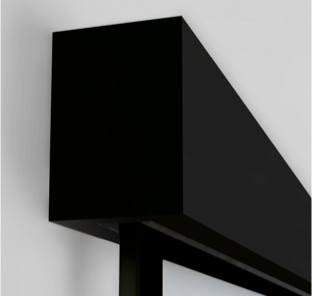 Schiebetürsystem Tvin 2.0, schwarz | Holz-Hauff in Leingarten