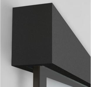 Schiebetürsystem Tvin 2.0, anthrazit | Holz-Hauff in Leingarten