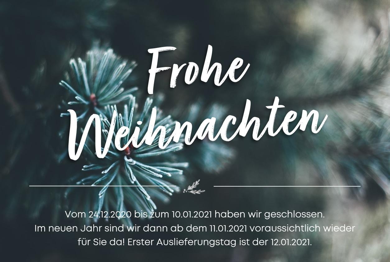 Weihnachtswünsche 2020 der Holz-Hauff GmbH in Leingarten