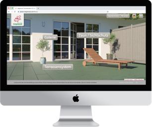 Konfigurator: Megawood Terrasse und Sichtschutz | Holz-Hauff in Leingarten