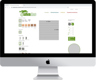 Konfigurator: Silvadec Terrasse | Holz-Hauff in Leingarten