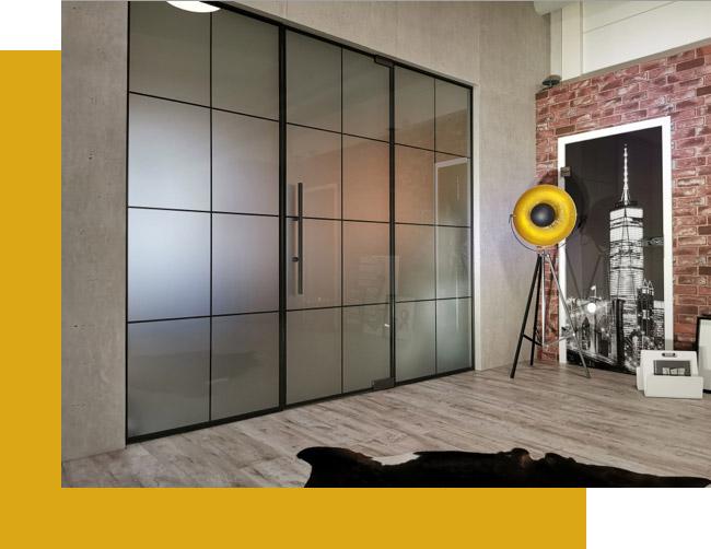 Urban Style: Den Raum öffnende Glastüren | Holz-Hauff in Leingarten