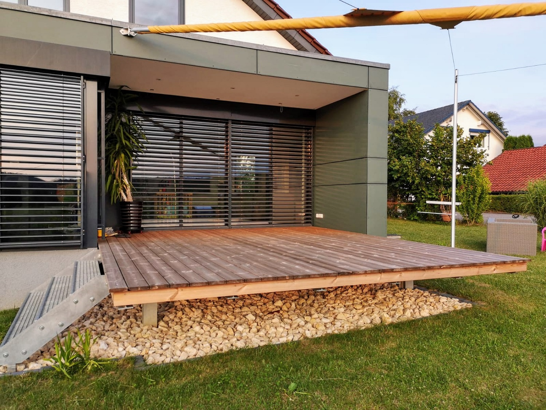 Thermo-Kiefer Terrassendiele | bei Holz-Hauff GmbH in Leingarten