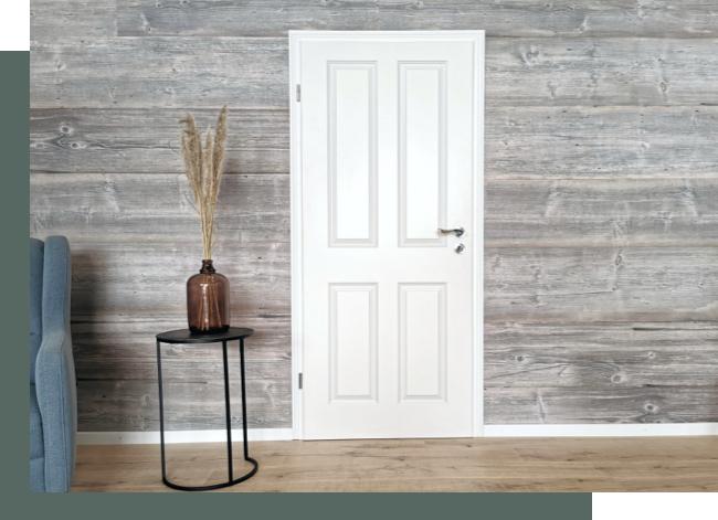 Weißlacktüren im Scandi Style | Holz-Hauff in Leingarten