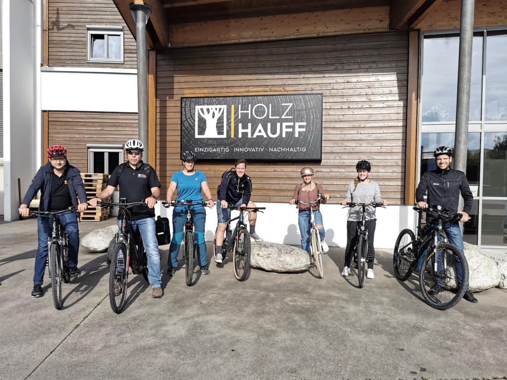 Stadtradeln 2021 | bei Holz-Hauff GmbH in Leingarten