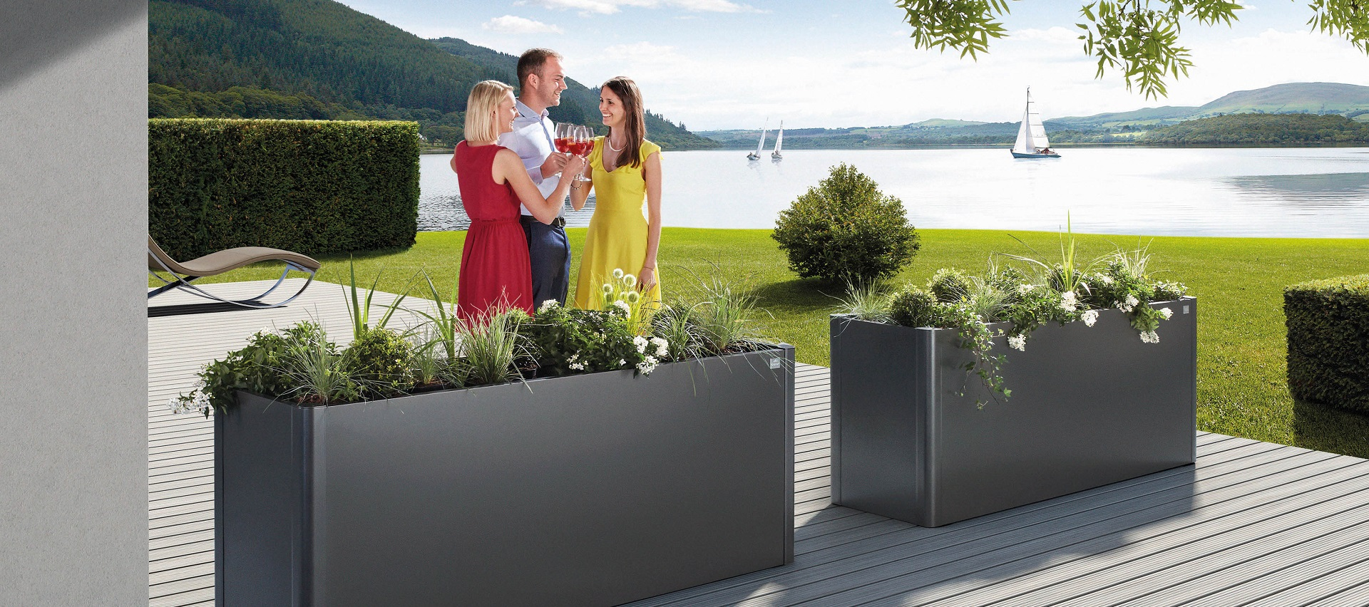 Gartenordnung Pflanzkästen von Biohort bei Holz-Hauff GmbH in Leingarten