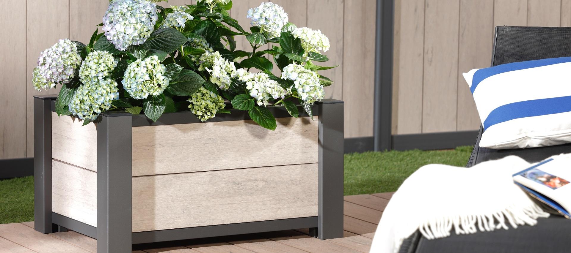 Gartenordnung Pflanzkasten WPC von Brügmann TraumGarten bei Holz-Hauff GmbH in Leingarten