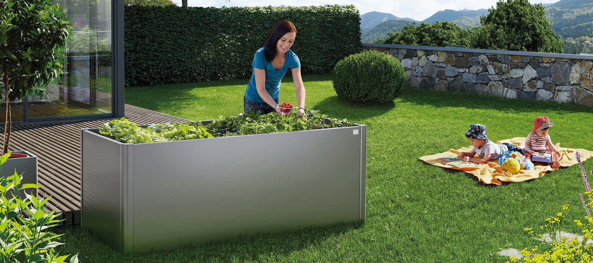 Gartenordnung Hochbeet von Biohort bei Holz-Hauff GmbH in Leingarten